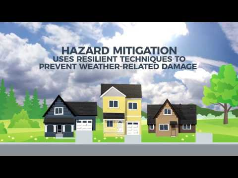 Concrete Buildings Mitigate Hazards