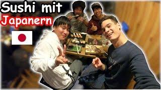 Sushi essen mit japanischen Freunden (All you can eat)