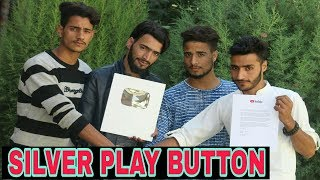 Silver Play Button Recived By Kashmiri Rounders