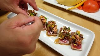 Seared Tuna With Mango Salsa – How To Make Sushi Series