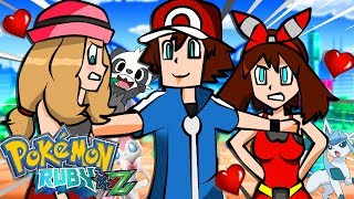 Minecraft: O ENCONTRO DE SERENA E MAY 🔥 - Pokemon Ruby (Pokémon XYZ) #259 ‹ Goten