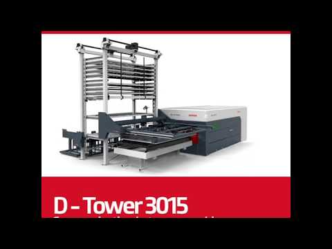 Systém manipulace s plechy D-TOWER