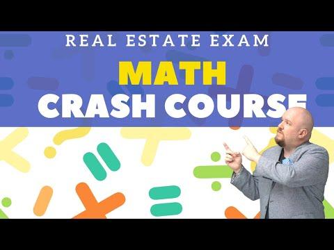 Real Estate Exam Math Crash Course - YouTube