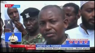 Wakaazi wa eneo la Eldas-Wajir wafanya maandamano kuhusu afisa anaesimamia uchaguzi wa IEBC