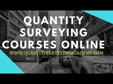 qs - Quantity Surveying Training Courses In Online - YouTube