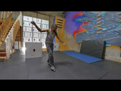 An example of training videos for better parkour training.