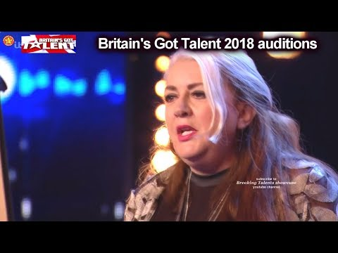 "Mandy Muden REALLY FUNNY COMEDIAN - ""MAGICIAN"" Auditions Britain's Got Talent 2018 BGT S12E03 (видео)"