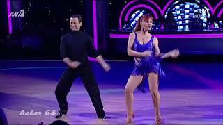 Dancing With The Stars 6: 1ο Live   Πηνελόπη Αναστασοπούλου & Ηλίας Λαδάς {26/1/2018}
