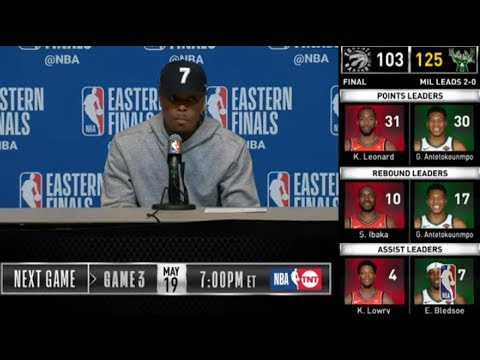 Kyle Lowry Press Conference   Eastern Conference Finals Game 2