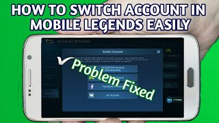 How To Change/Switch Account in Mobile Legends