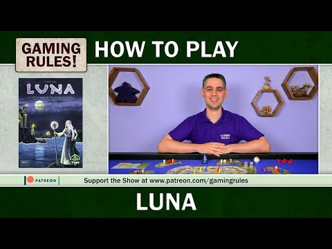 Luna - Official How-to-Play video from Gaming Rules!