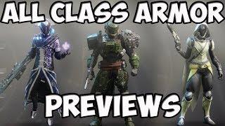 Destiny 2 All Class Armor Previews - Tower Vendors, Earth, Titan, IO, Nessus | Kholo.pk