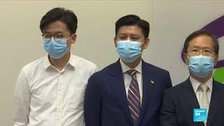 Hong Kong - Législatives : 12 Candidats Prodémocratie Dont Joshua Wong Disqualifiés