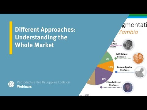 Different Approaches: Understanding the Whole Market