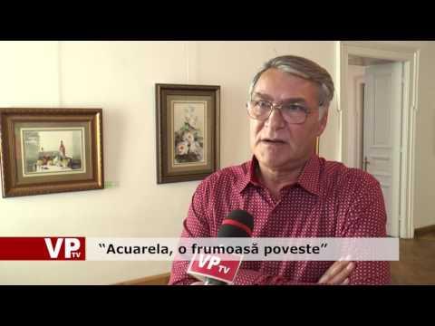 """""""Acuarela, o frumoasă poveste"""""""