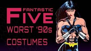 5 Worst 90s Comic Costumes - Fantastic Five