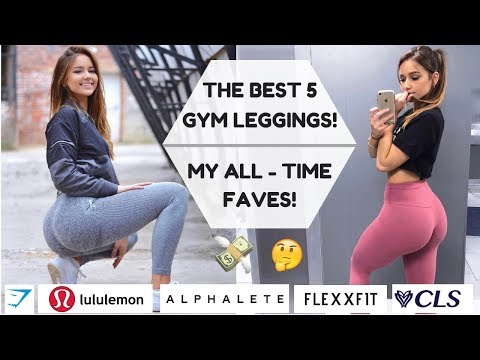 TOP 5 BEST GYM LEGGINGS EVER - Gymshark, Lululemon, Alphalete, Flexxfit, CLS