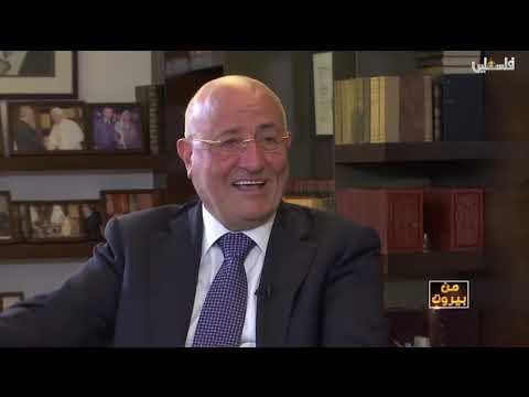 (فيديو) حوار الإعلامي هيثم زعيتر مع الوزير غازي العريضي على تلفزيون فلسطين 6-8-2019