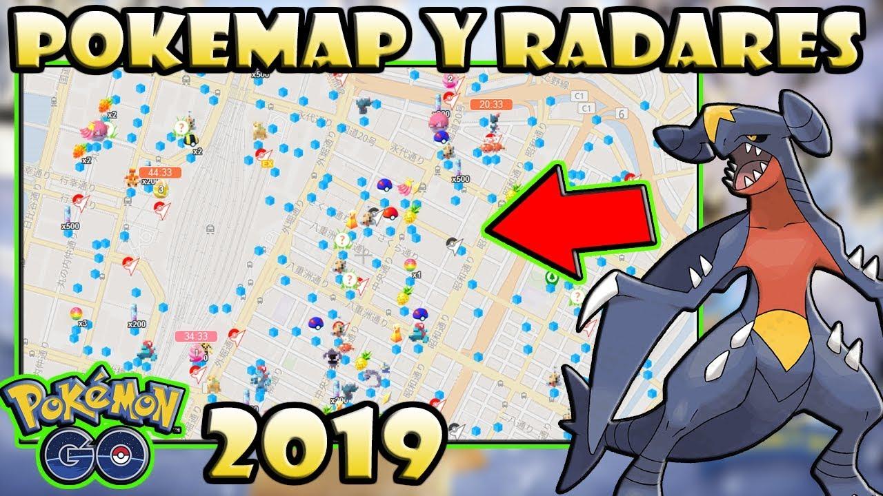 Mapa Pokemon Go 2017.Pokexer