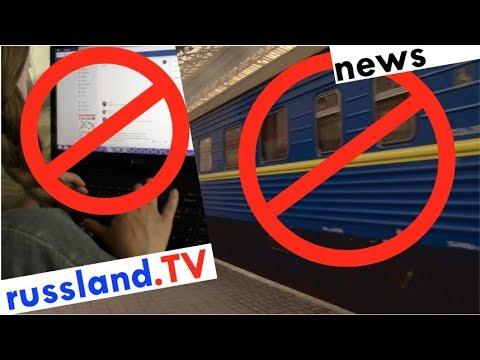 Ukraine: Totale Russland-Abschottung [Video]