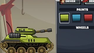 HILL CLIMB RACING 2 TANK / WINTER ADVENTURE Gameplay iOS / Android