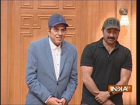 Sunny Deol gets emotional while talking about father Dharmendra on Aap Ki Adalat