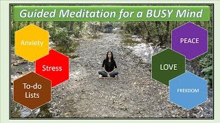 10-min Guided Meditation - Light and Free from Stress and Anxiety