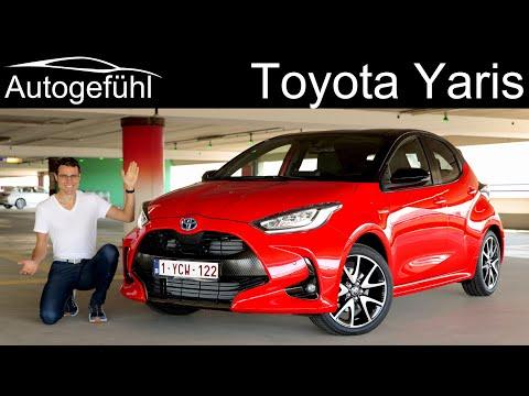 all-new Toyota Yaris FULL REVIEW 1.5 Hybrid 2021 2020 - Autogefühl