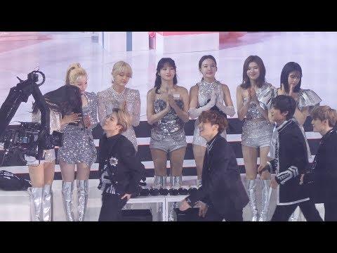 트와이스(TWICE)_방탄소년단(BTS)대상발표순간 ,…