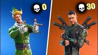 0 KILL WINNER vs 30 KILL WINNER in Fortnite