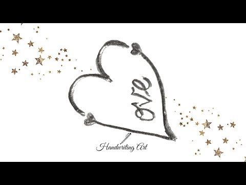 How To Draw Love Hearts Love Heart Tattoo Design Simple Love
