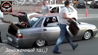 Заниженный таз против лежачего полицейского |  Understatement of the pelvis against the speed bump