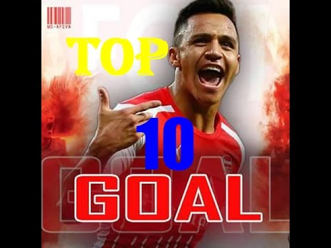 Alexis Sanchez Top 10 goals - Alexis Sanchez Goals Arsenal - 2015