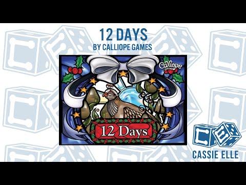Episode 14 Cassie Elle Talks 12 Days by Calliope Games