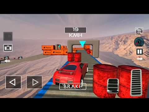 Impossible Tracks Racing Car Stunts Off Road Game / GT Stunning Driving Game / Android Gameplay FHD