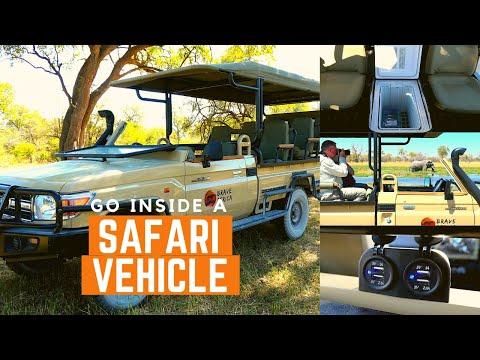 Inside Brave Africa's Safari Vehicle