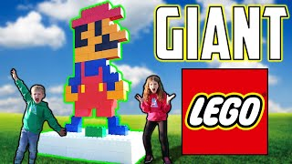 Building HUGE Lego Characters - World's BIGGEST Blocks! (LIFE SIZED)
