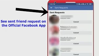 3 Best ways to see sent friend request on Facebook app