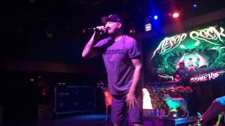 Aesop Rock - Mystery Fish/Rings (The Impossible Kid Tour 2016)