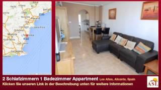 preview picture of video '2 Schlafzimmern 1 Badezimmer Appartment zu verkaufen in Los Altos, Alicante, Spain'