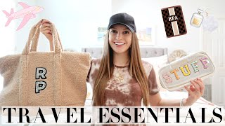 TRAVEL ESSENTIALS + PACKING TIPS 2020 | RACHEL PUCCETTI
