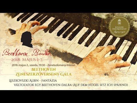 Beethoven Budán 2018 - Zeneszerzőverseny Gála: Leszkovszki Albin - video preview image