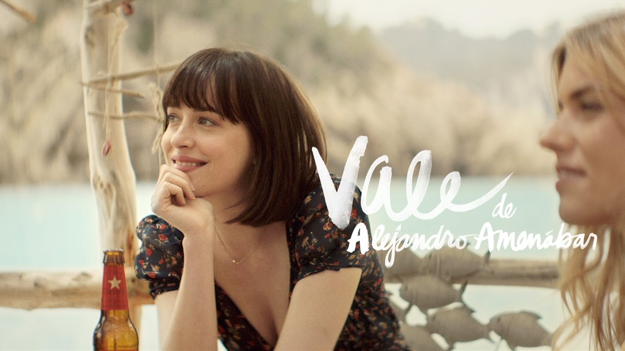 «Vale» con Dakota Johnson y Quim Gutiérrez, dirigida por Alejandro Amenábar. Estrella Damm 2015.