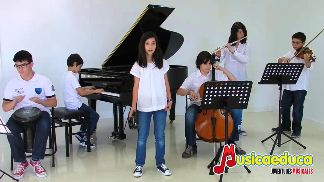 Canción del viento - Grupo de alumnos - Musicaeduca Juventudes Musicales de Alcalá de Henares