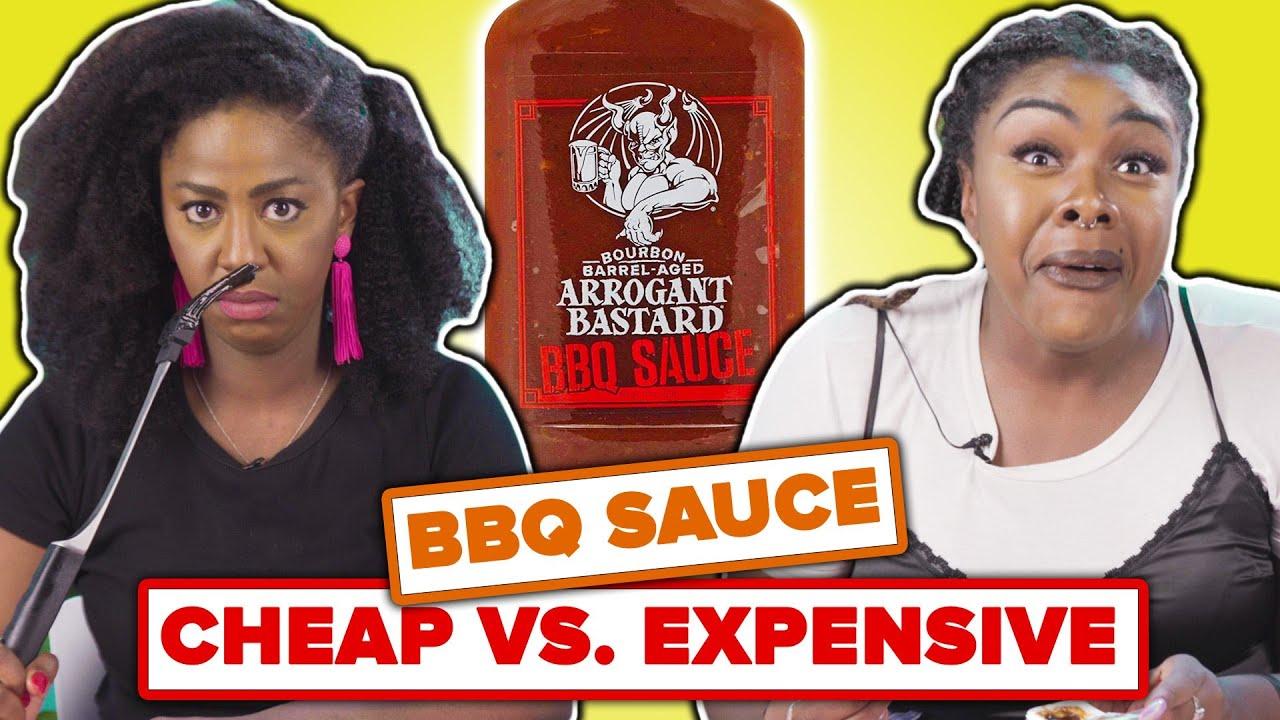 BBQ Lovers Rank Cheap Vs. Expensive BBQ Sauce thumbnail