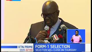 Form 1 selection kicks off as Magoha insists on 100% transition