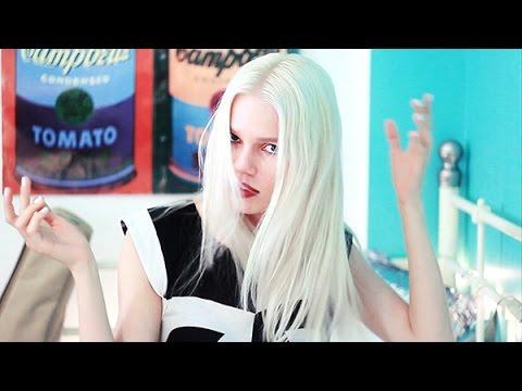 Как Покрасить Волосы в Платиновый Блонд (Белый Цвет Волос)