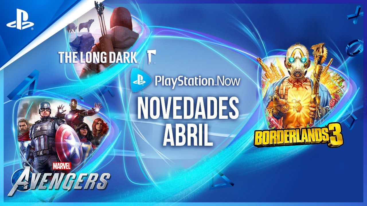 Los juegos de PlayStation Now para abril: Marvel's Avengers, Borderlands 3 y The Long Dark