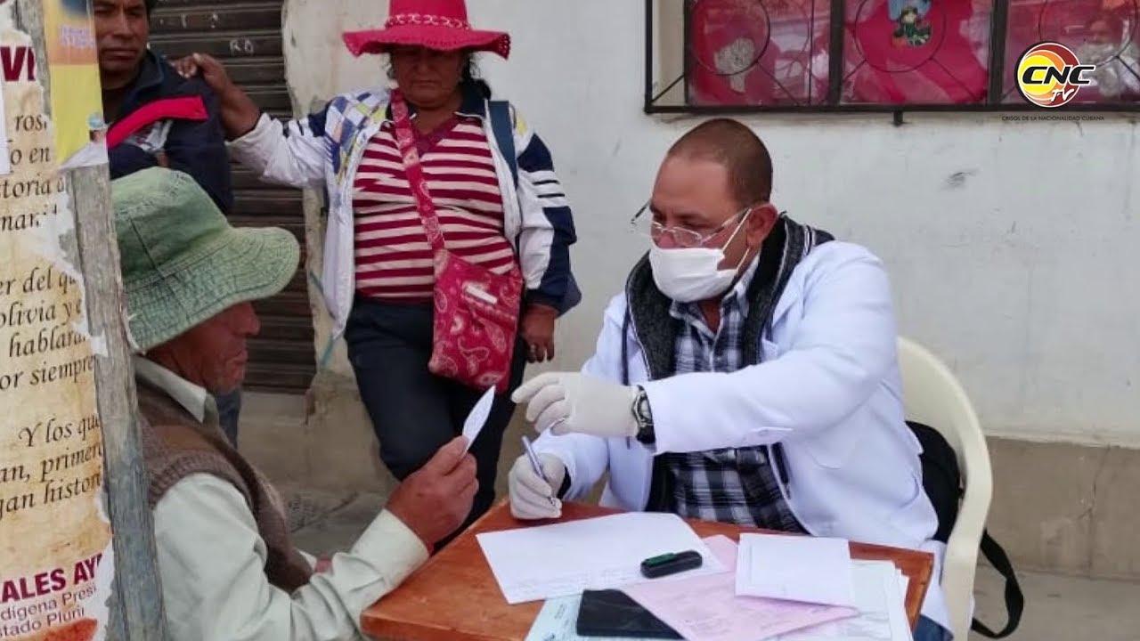 """Brigada médica cubana: """"Seguiremos prestando nuestros servicios en cualquier parte del mundo"""""""