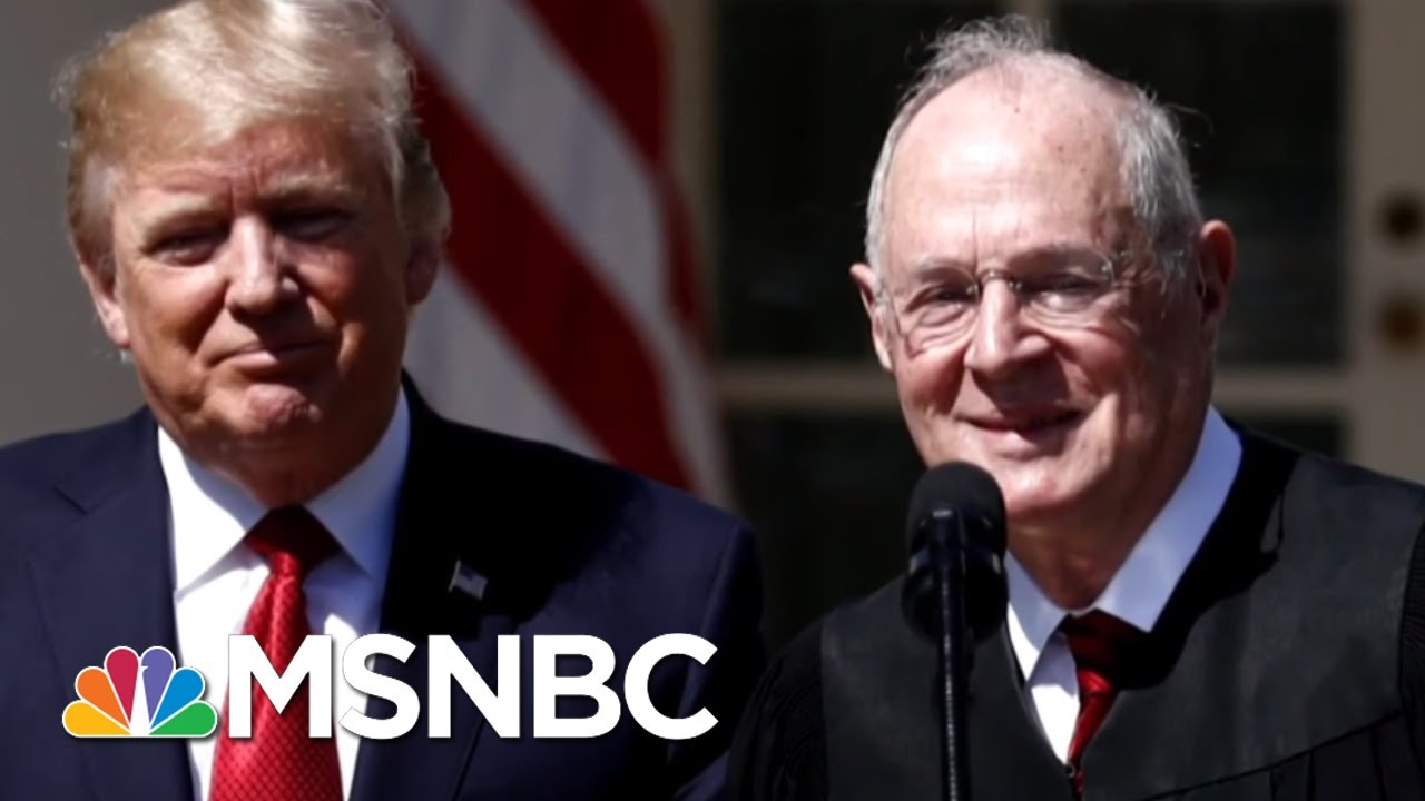 Justice Anthony Kennedy Retirement 'Likely' Lead To Roe V. Wade Repeal | MTP Daily | MSNBC thumbnail